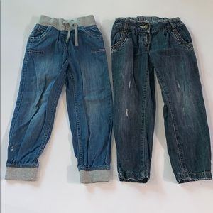 NEXT Jeans Girls Size 4-5 years lot of 2